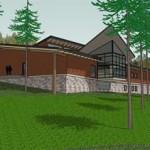 YMCA Camp Seymour Dining Hall-south