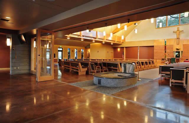 Churches Desantis Architecture Olympia Washington